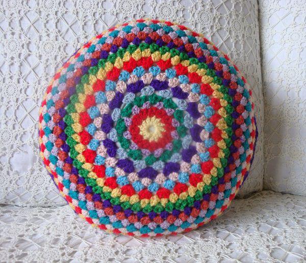 Granny Circle Cushion Pattern Crocht