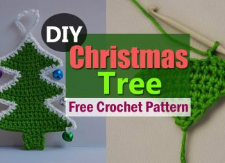 Ever tried making A Crochet Christmas Tree? Make it by following these free pattern instructions and decorate it further.