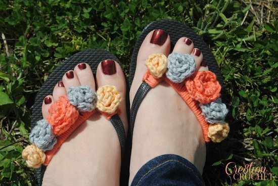 DIY Crochet Slippers Patterns 4