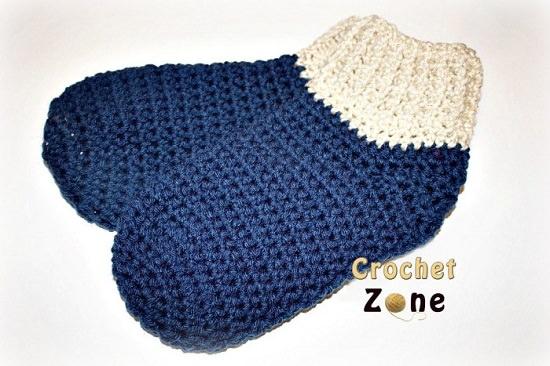 DIY Crochet Socks 16