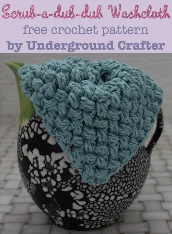 Best Crochet Washclothes Patterns 8