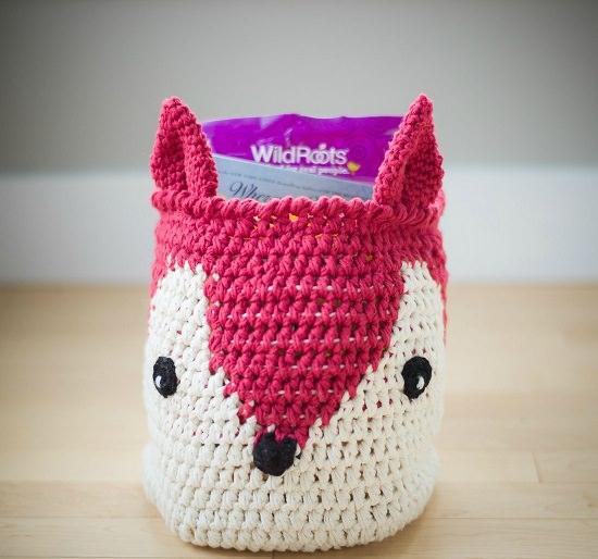 DIY Crochet Basket 7