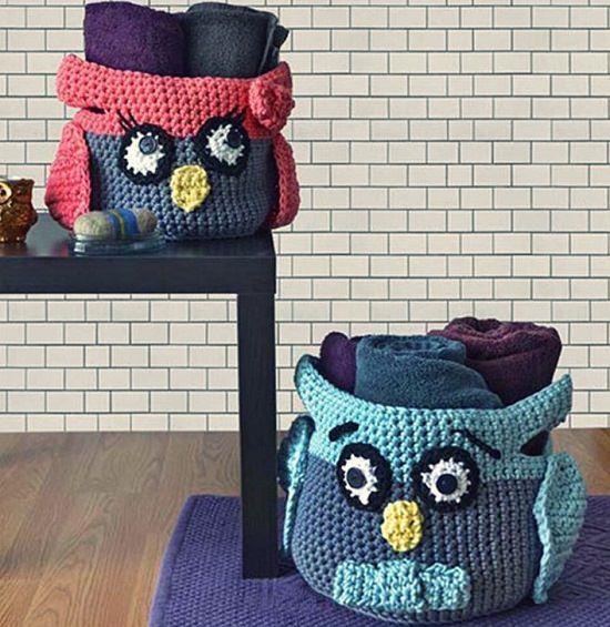 DIY Crochet Basket 10