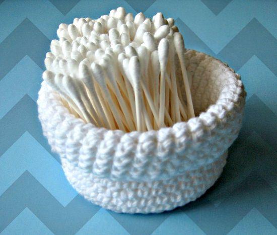 DIY Crochet Basket 11