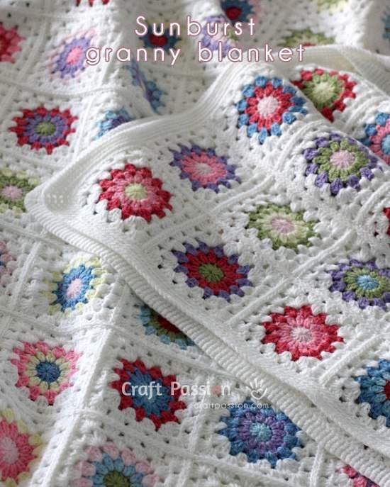 DIY Crochet Blanket 5