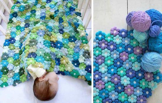 DIY Crochet Blanket 7