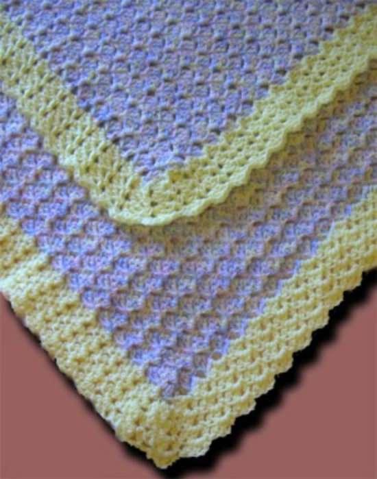 DIY Crochet Blanket 12