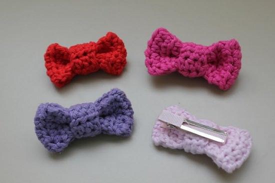 DIY Crochet Bows 7