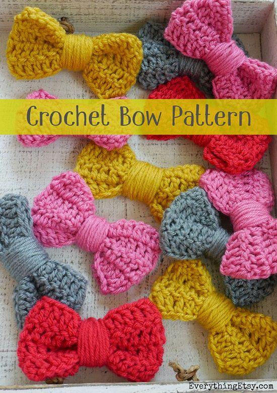 DIY Crochet Bows 2