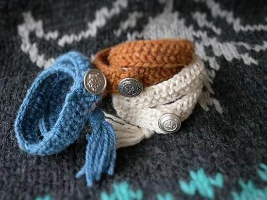 DIY Crochet Bracelet 7
