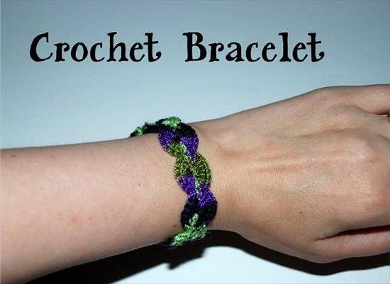 DIY Crochet Bracelet 10