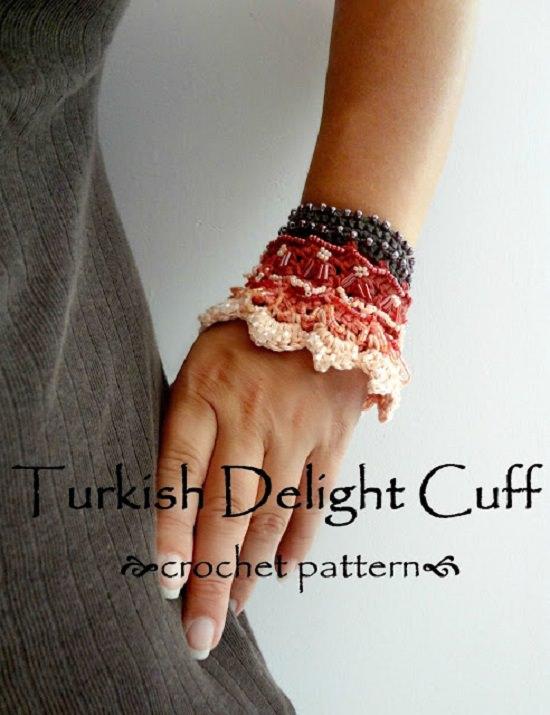 DIY Crochet Bracelet 12