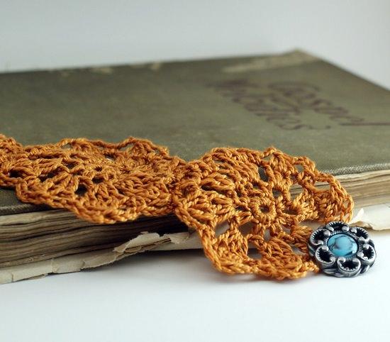 DIY Crochet Bracelet 5