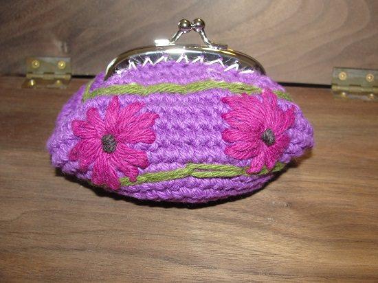 DIY Crochet Coin Purse 8