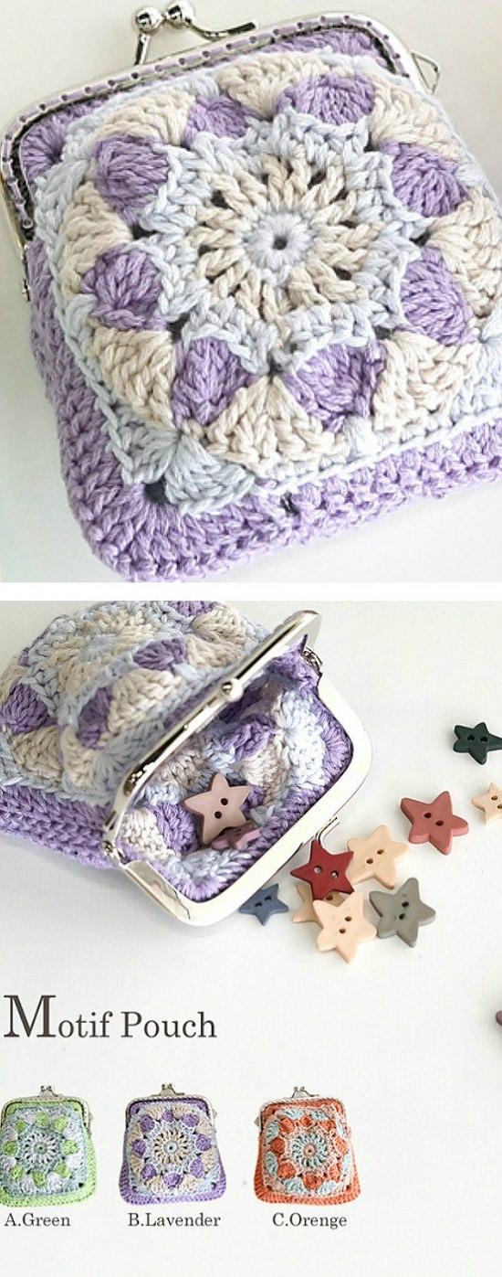 DIY Crochet Coin Purse 10