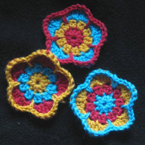 DIY Crochet Flower 5