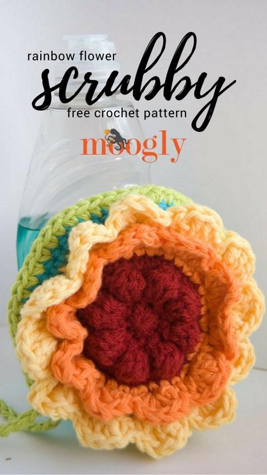 DIY Crochet Flower 6