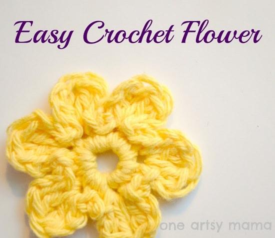 DIY Crochet Flower 8