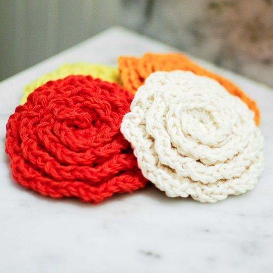 DIY Crochet Flower 3
