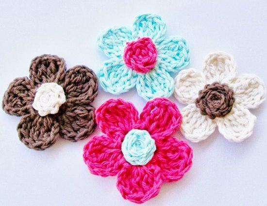 DIY Crochet Flower 4