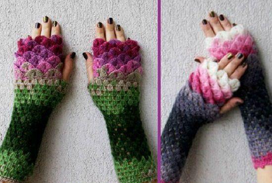 DIY Crochet Hand Warmer 5
