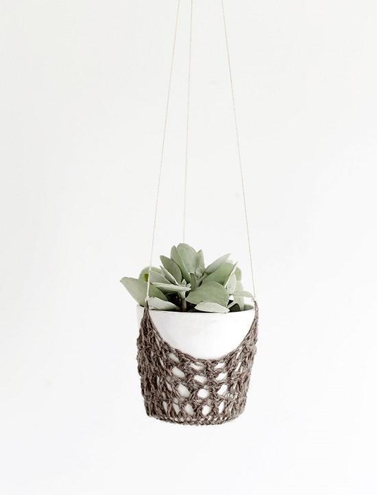 DIY Crochet Planter