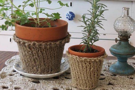 DIY Crochet Planter 5