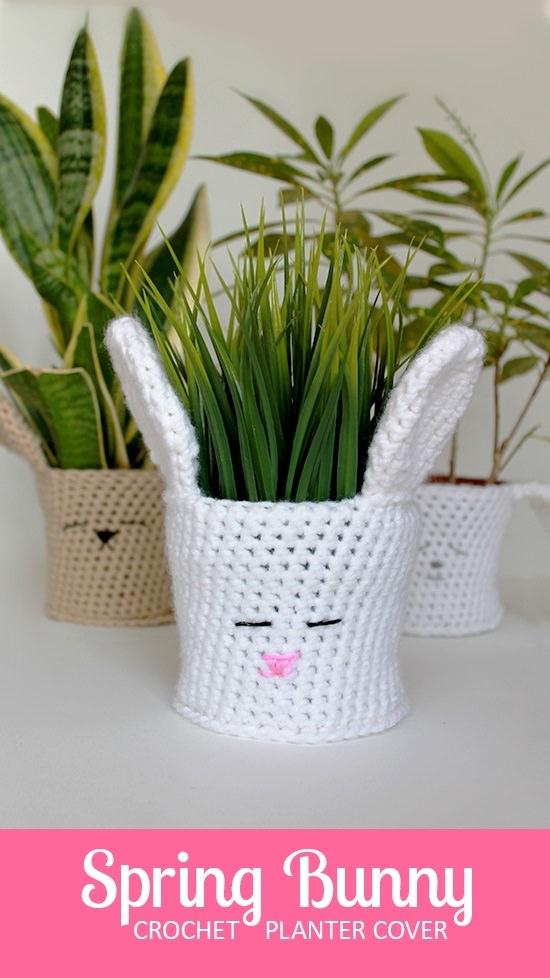 DIY Crochet Planter 8