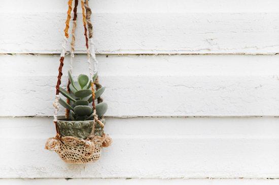 DIY Crochet Planter 2