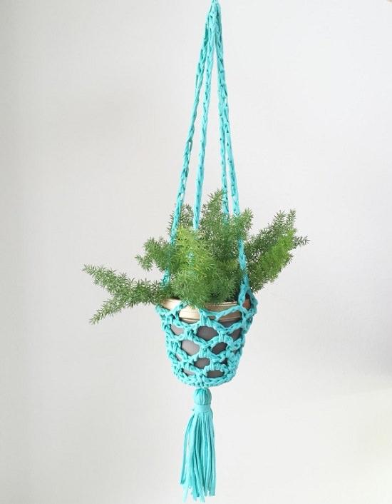 DIY Crochet Planter 3