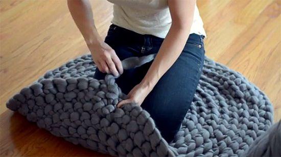 DIY Crochet Rug 6