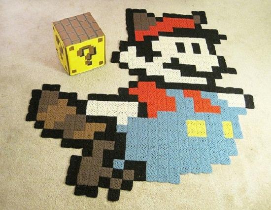 DIY Crochet Rug 7