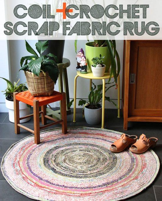DIY Crochet Rug 2