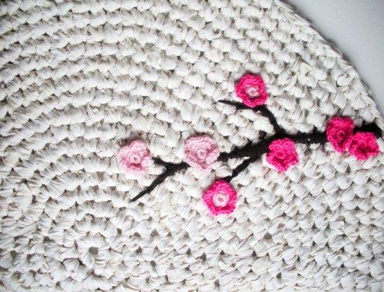 DIY Crochet Rug 5