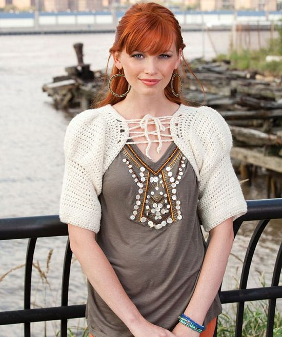 DIY Crochet Shrug 6