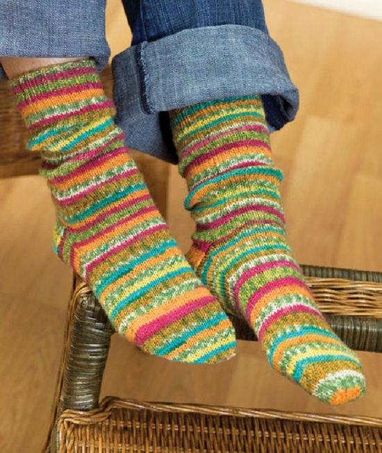 DIY Crochet Socks 6