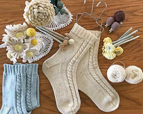 DIY Crochet Socks 8
