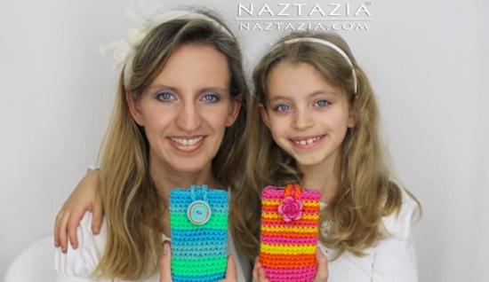 DIY Crochet Mobile Case