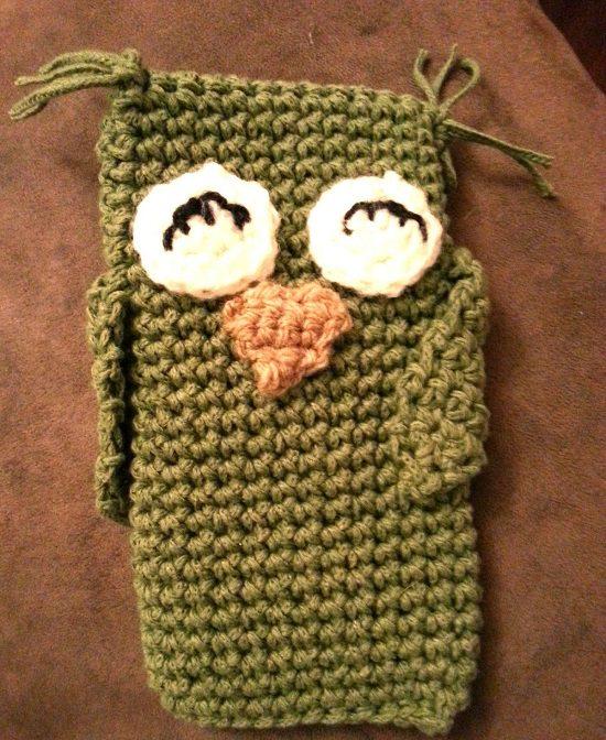 DIY Crochet Mobile Case 6