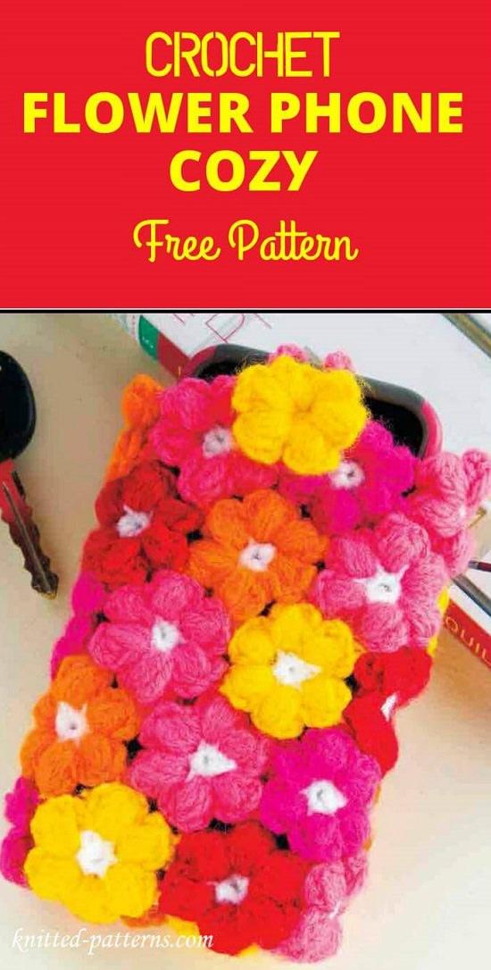 DIY Crochet Mobile Case 12