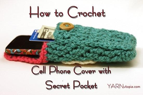 DIY Crochet Mobile Case 13
