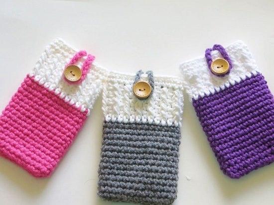 DIY Crochet Mobile Case 2