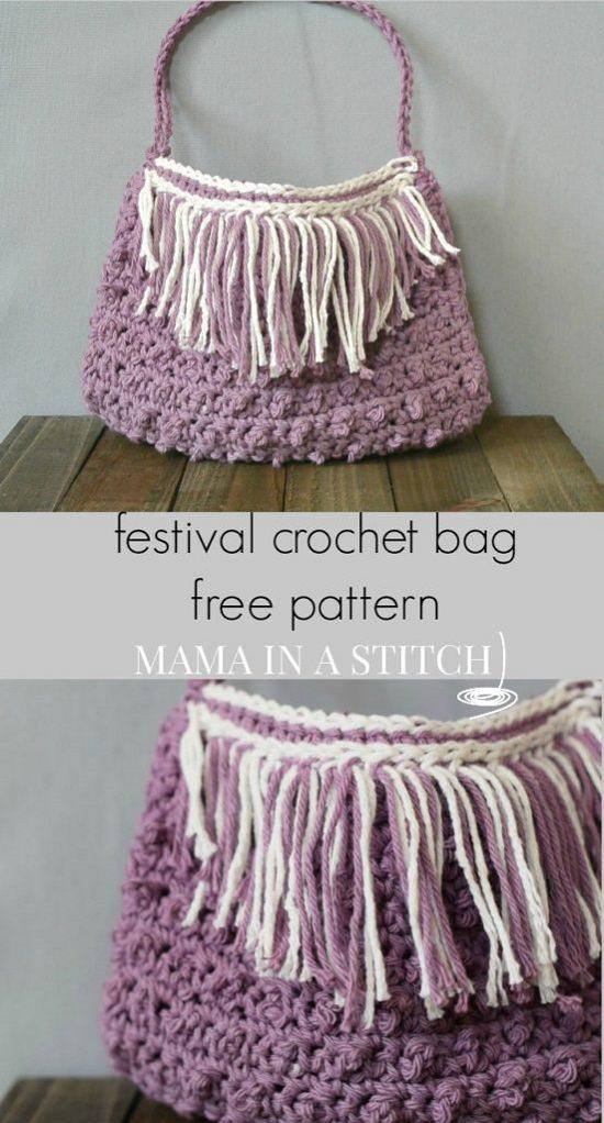 DIY Crochet Bags 7