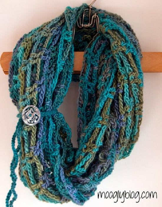 DIY Crochet Scarfs