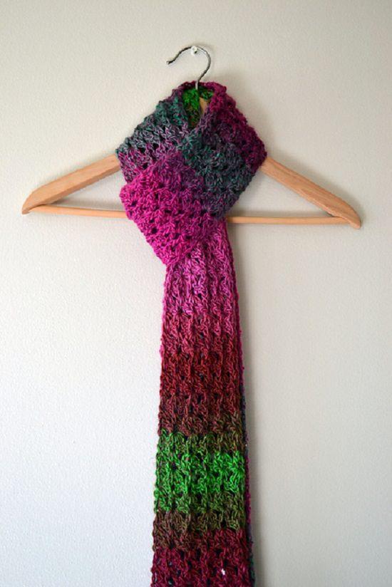 DIY Crochet Scarfs 7