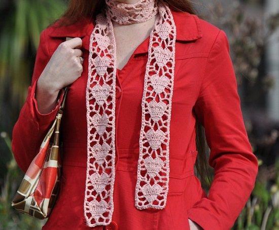 DIY Crochet Scarfs 9