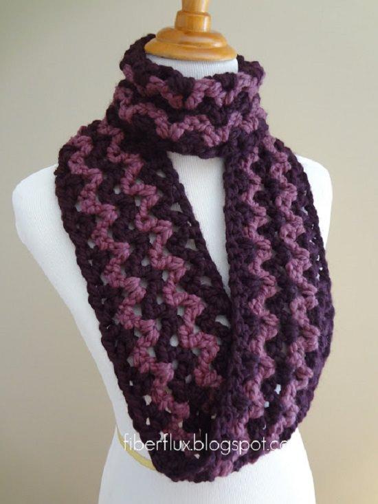 DIY Crochet Scarfs 2