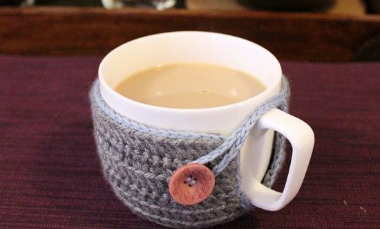 DIY Crochet Mug Cozy