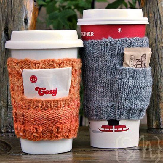 DIY Crochet Mug Cozy 7