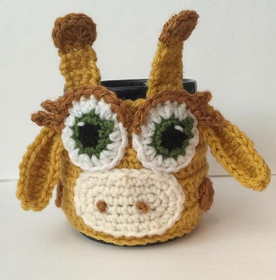 DIY Crochet Mug Cozy 9